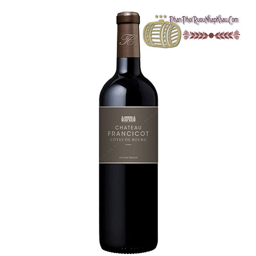 Rượu vang Chateau Francicot [PE] - phanphoiruounhapkhau.com