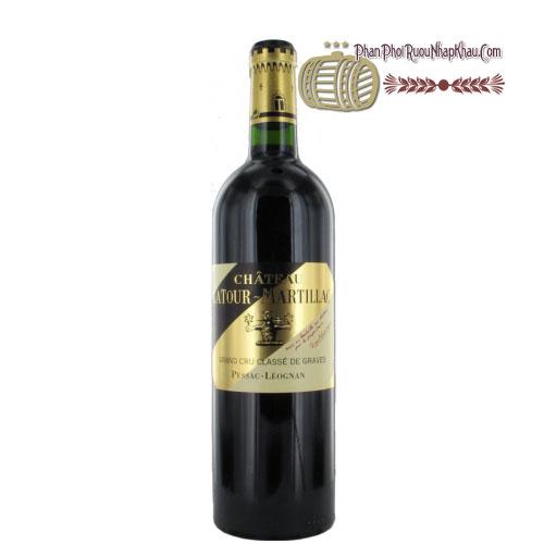 Rượu vang Chateau La Tour Martillac Grand Cru Classe 2006 [PE] - phanphoiruounhapkhau.com