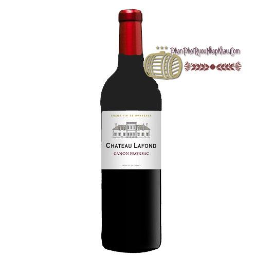 Rượu vang Chateau Lafond [PE] - phanphoiruounhapkhau.com