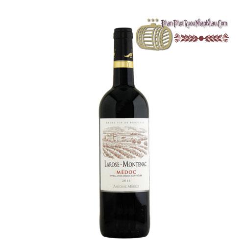 Rượu vang Chateau Larose Montenac [PE] - phanphoiruounhapkhau.com