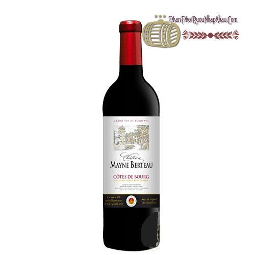 Rượu vang Chateau Mayne Berteau [PE] - phanphoiruounhapkhau.com