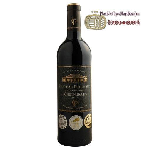 Rượu vang Chateau Peychaud Cootes De Bourg [BM] - phanphoiruounhapkhau.com
