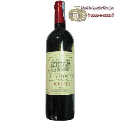 Rượu vang Chauteau Fontana [HT] - phanphoiruounhapkhau.com
