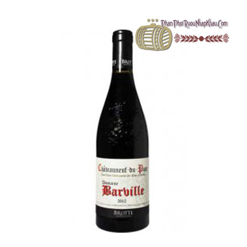 Rượu vang Cheateauneuf Du Pape Domaine Barville [PE] - phanphoiruounhapkhau.com