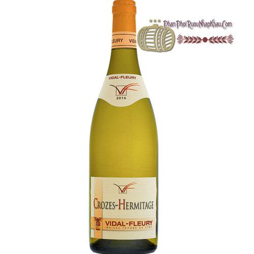 Rượu Vang Crozes Hermitage Blanc By Vidal Fleury