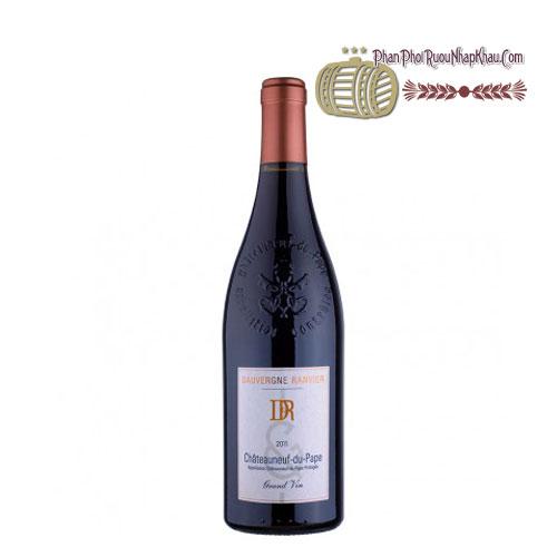 Rượu vang DR Chateauneuf Du Pape Grand Vin [VA] - phanphoiruounhapkhau.com
