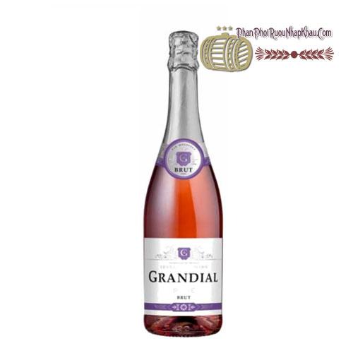 Rượu vang Grandial Sparkling Brut Rose [VA] - phanphoiruounhapkhau.com
