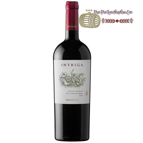 Rượu vang Intriga Cabernet Sauvignon [PE] - phanphoiruounhapkhau.com