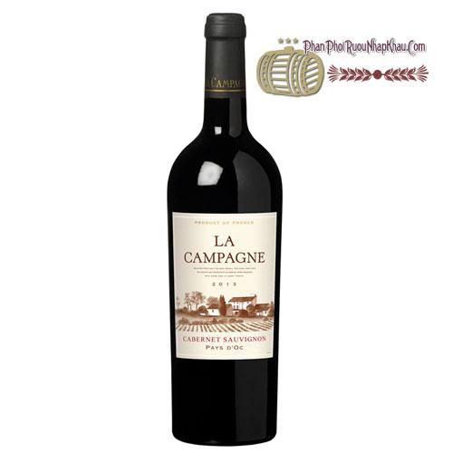 Rượu vang La Campagne Cabernet Sauvignon [VA] - phanphoiruounhapkhau.com
