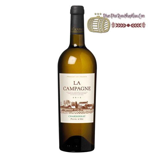 Rượu vang La Campagne Chardonnay [VA] - phanphoiruounhapkhau.com