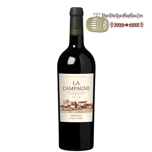 Rượu vang La Campagne Merlot [VA] - phanphoiruounhapkhau.com