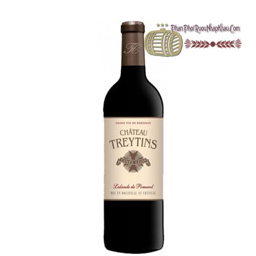 Rượu vang Lalande De Pomerol Chateau Treytins [PE] - phanphoiruounhapkhau.com