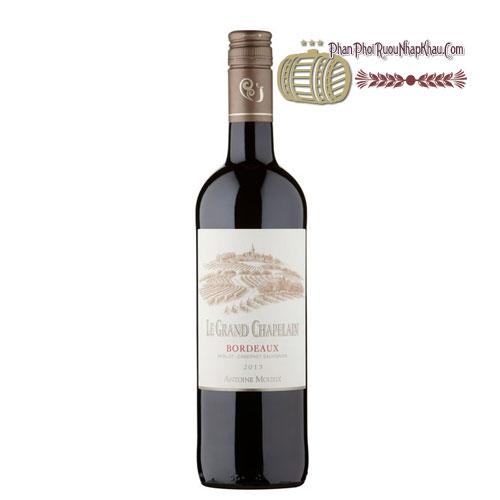 Rượu vang Le Grand Chapelain - Antoine Moueix Signature [PE] - phanphoiruounhapkhau.com