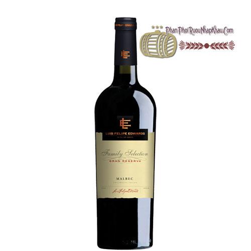 Rượu vang Luis Felipe Edwards Gran Reserva - Malbec [PE] - phanphoiruounhapkhau.com
