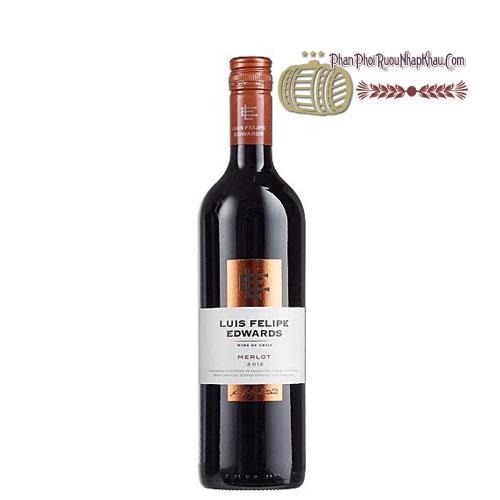 Rượu vang Luis Felipe Edwards - Merlot [PE] - phanphoiruounhapkhau.com