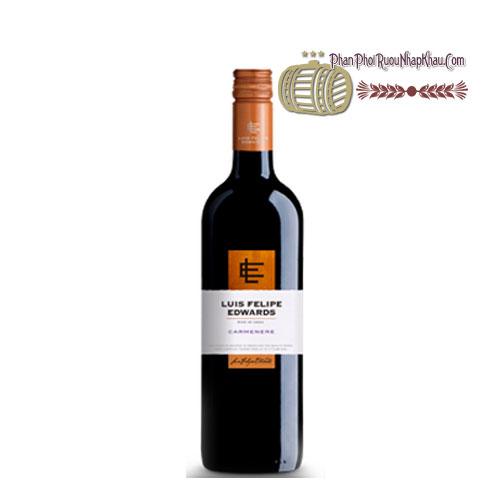 Rượu vang Luis Felipe Edwards Reserva Carmenere [PE] - phanphoiruounhapkhau.com