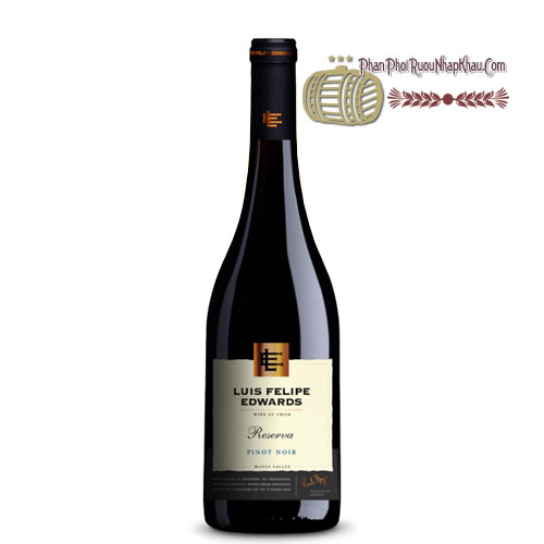 Rượu vang Luis Felipe Edwards Reserva - Pinot Noir [PE] - phanphoiruounhapkhau.com