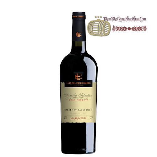 Rượu vang Luis Felipe Gran Reserva - Cabernet Sauvignon [PE] - phanphoiruounhapkhau.com