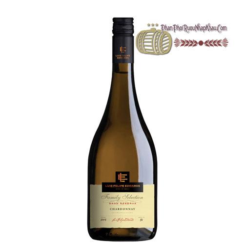 Rượu vang Luis Felipe Gran Reserva - Chardonnay [PE] - phanphoiruounhapkhau.com