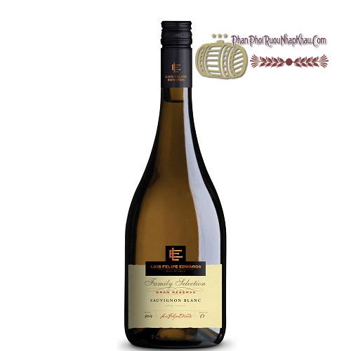 Rượu vang Luis Felipe Gran Reserva - Sauvignon Blanc [PE] - phanphoiruounhapkhau.com