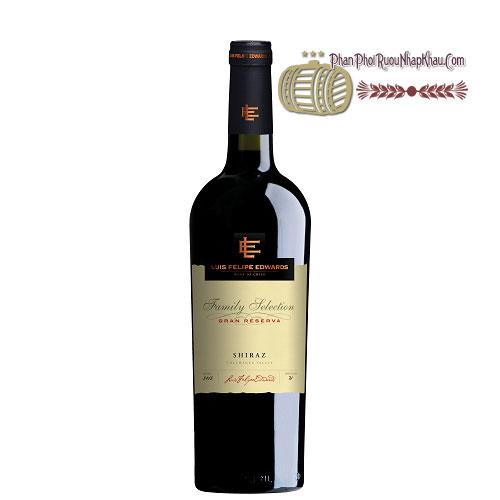 Rượu vang Luis Felipe Gran Reserva - Shiraz [PE]