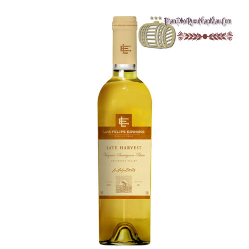 Rượu vang Luis Felipe Late Harvest - Viognier Sauvignon Blanc [PE] - phanphoiruounhapkhau.com
