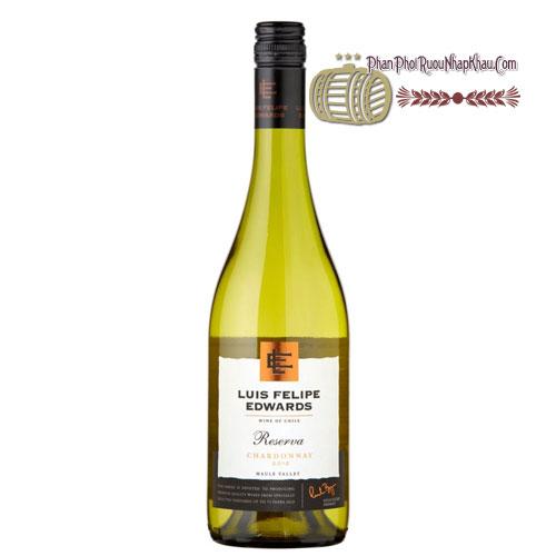 Rượu vang Luis Felipe Reserva Chardonnay [PE] - phanphoiruounhapkhau.com