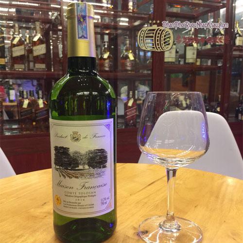 Rượu vang Maison Comte Tolosan [VA] - phanphoiruounhapkhau.com