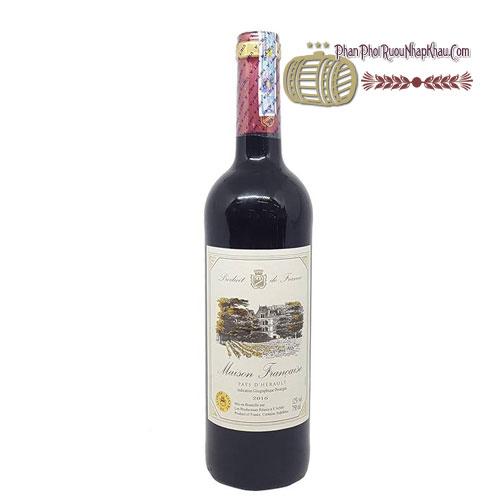 Rượu vang Maison Francaise [VA] - phanphoiruounhapkhau.com