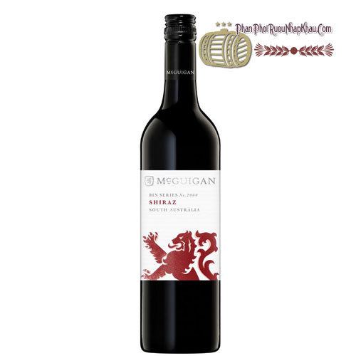 Rượu vang McGuigan Bin 2000 - Shiraz [PE] - phanphoiruounhapkhau.com
