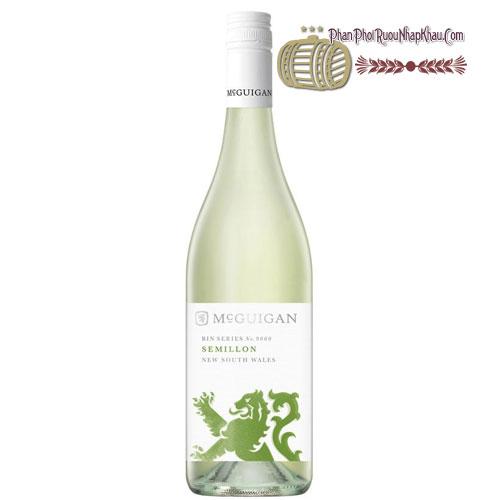 Rượu vang McGuigan Bin 9000 Semillon [PE] - phanphoiruounhapkhau.com