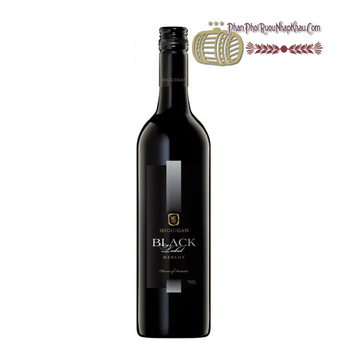 Rượu vang McGuigan Black Label - Merlot [PE] - phanphoiruounhapkhau.com