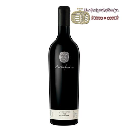 Rượu vang McGuigan The Philosophy Cabernet Sauvignon Shiraz [PE] - phanphoiruounhapkhau.com