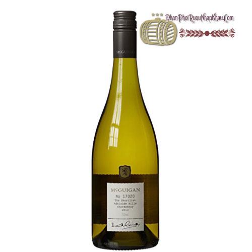 Rượu vang McGuigan The Shortlist Chardonnay 2011 [PE] - phanphoiruounhapkhau.com
