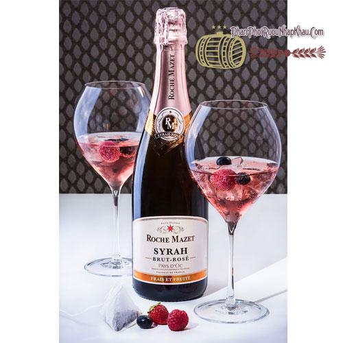 Rượu vang Moche Mazet brut rose