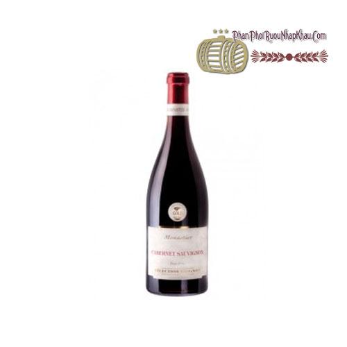 Rượu vang Monastier Cabernet Sauvignon [VA] - phanphoiruounhapkhau.com