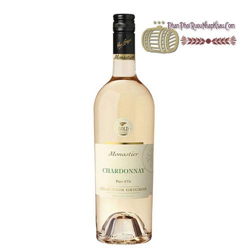 Rượu vang Monastier Chardonnay [VA] - phanphoiruounhapkhau.com