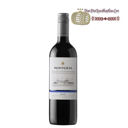 Rượu vang MontGras Estate - Merlot [PE] - phanphoiruounhapkhau.com