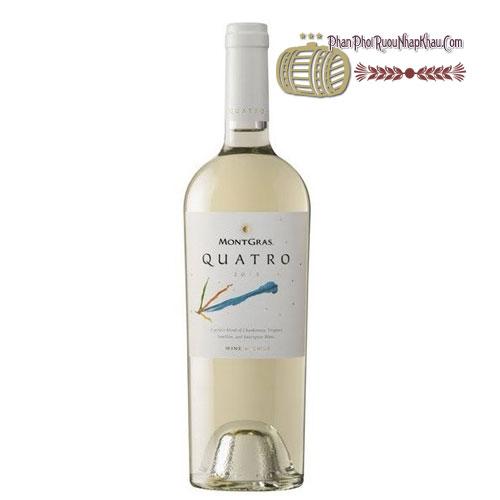 Rượu vang MontGras Quatro - Blend [PE] - phanphoiruounhapkhau.com