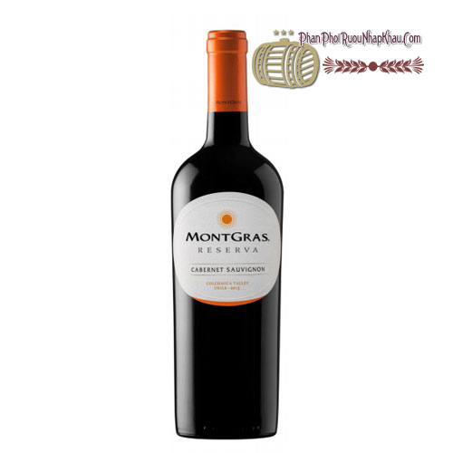 Rượu vang MontGras Reserva - Cabernet Sauvignon [PE] - phanphoiruounhapkhau.com
