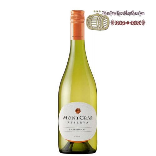 Rượu vang MontGras Reserva - Chardonnay [PE] - phanphoiruounhapkhau.com