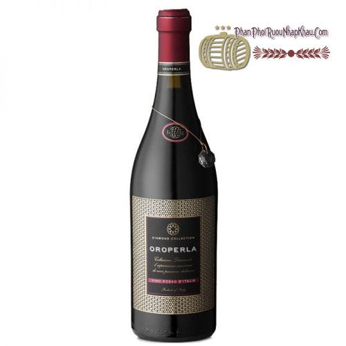 Rượu vang Oroperla Vino Rosso D' Italia [BM] - phanphoiruounhapkhau.com