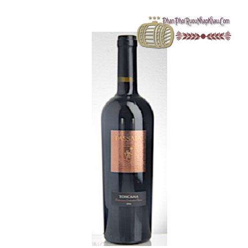 Rượu vang Passaia Rosso Toscana [PE] - phanphoiruounhapkhau.com