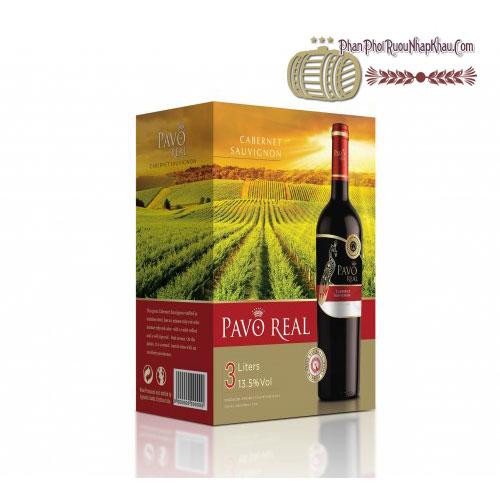 Rượu vang Pavo Real Cabernet Sauvignon BIB 3L [BM] - phanphoiruounhapkhau.com