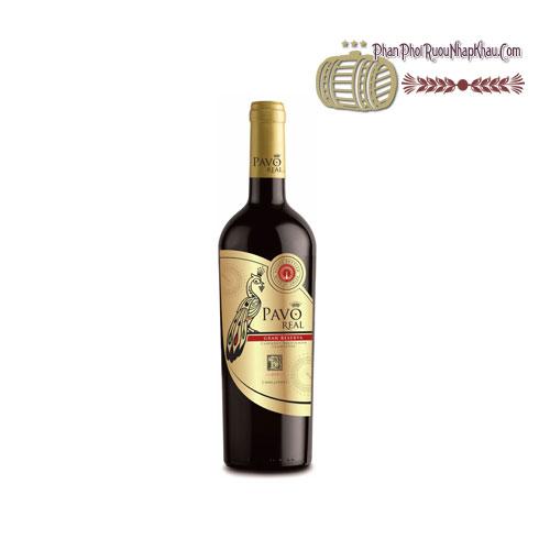 Rượu vang Pavo Real Cabernet Sauvignon Carmenere Gran Reserva [BM] - phanphoiruounhapkhau.com