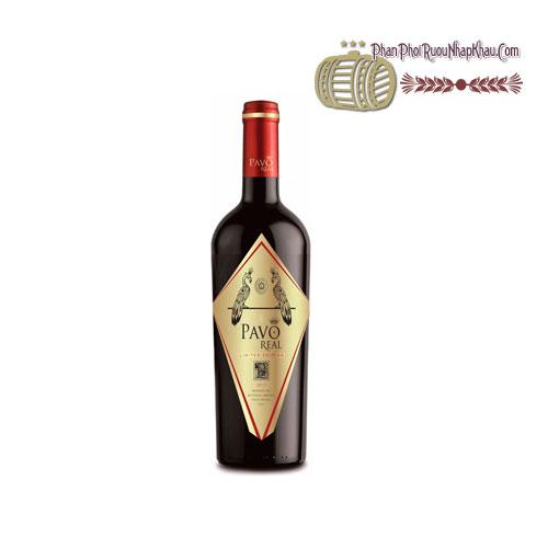 Rượu vang Pavo Real Cabernet Sauvignon Carmenere Limited Edition [BM] - phanphoiruounhapkhau.com