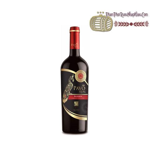 Rượu vang Pavo Real Cabernet Sauvignon Reserva [BM] - phanphoiruounhapkhau.com