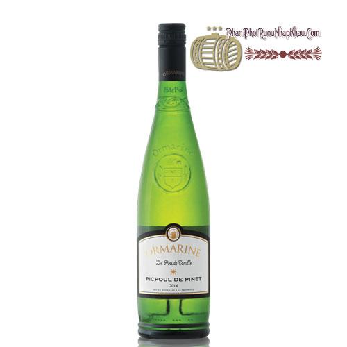 Rượu vang Picpoul De Pinet Ormarine - JeanJean [PE] - phanphoiruounhapkhau.com