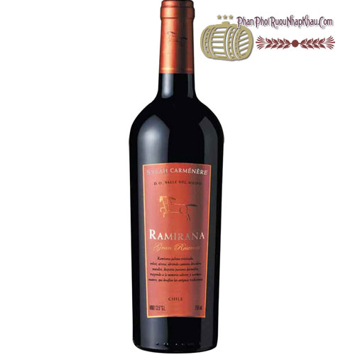 Rượu Vang Ramirana Gran Reserva [HT]