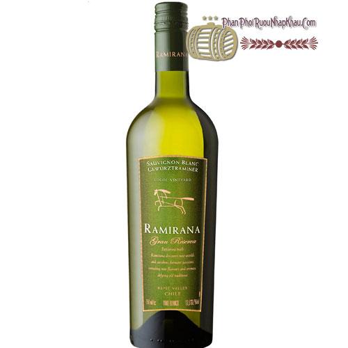 Rượu Vang Ramirana Gran Reserva